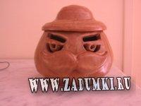 Pringles man (hand made керамика)