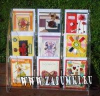Авторские открытки ручной работы Натальи Кабановой