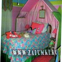 Сказочная кровать (hand made)