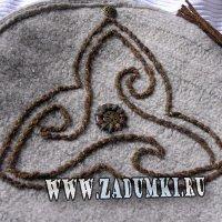 Круглая текстильная сумка