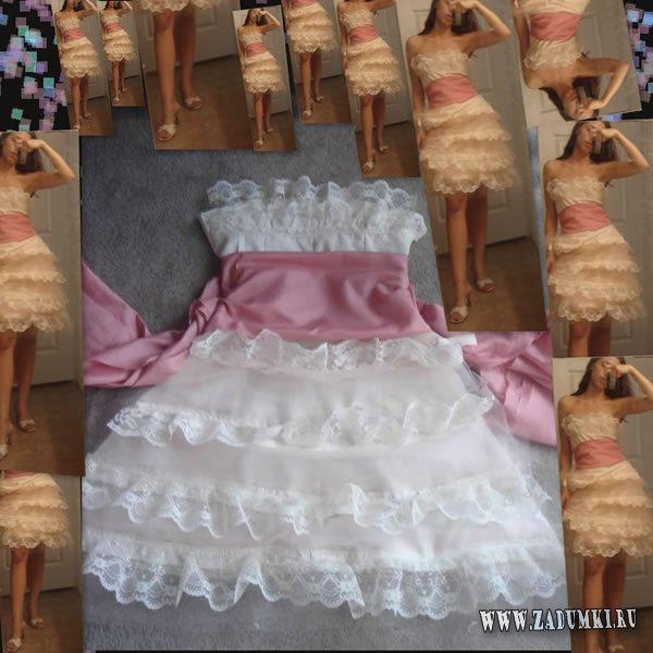Платье коктейльное своими руками