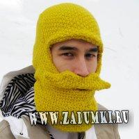 Шапка-бородатка (канадский hand made)