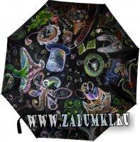 Зонт Алиса в стране чудес