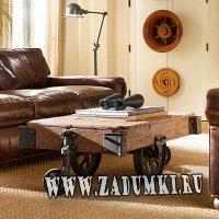Столик-тележка, на который вы сможете класть даже  ноги (hand made)