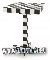 Шахматный столик от Front Design