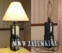 Лампа из видеокассет