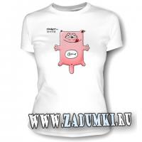 Женская футболка «Аквариум»