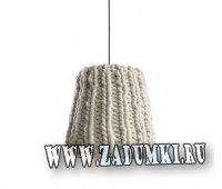 Вязанными могут быть не только вещи, но и лампы