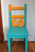 Преображение обычного стула от фирмы IKEA