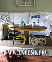 Преображение кофейного столика