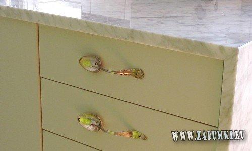 Удобные оригинальные ручки для кухонных шкафчиков