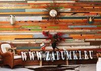 Оригинальные деревянные стены