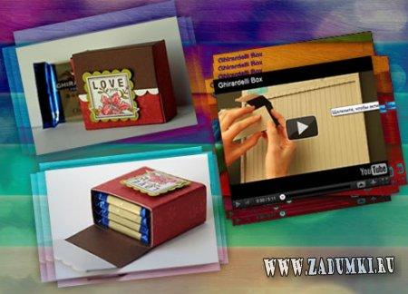 Очаровательная коробочка для конфет