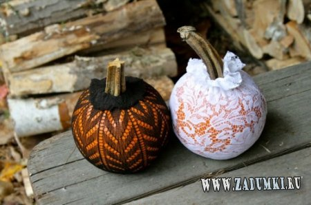 Милые тыквы для украшения праздника Хэллоуин