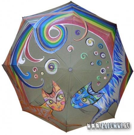 Зонт «Rainbow love» (продается)