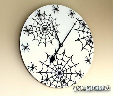 Настенные часы в стиле Хэллоуин