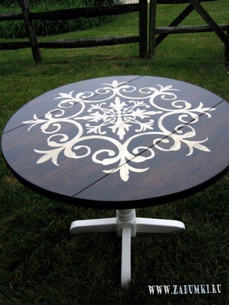 Фантастическое превращение круглого столика