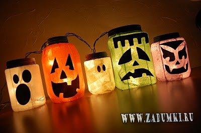 Как украсить квартиру на Хеллоуин?