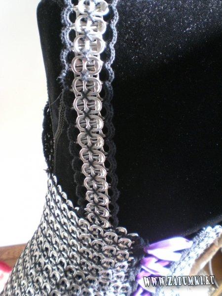 Платье из открывашек