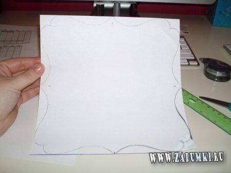 Коврик для мышки из пробковой доски и ткани