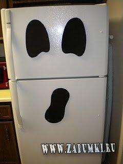 Холодильник в виде привидения