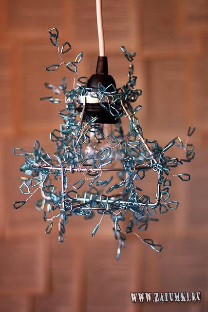 Как украсить обычный промышленный светильник
