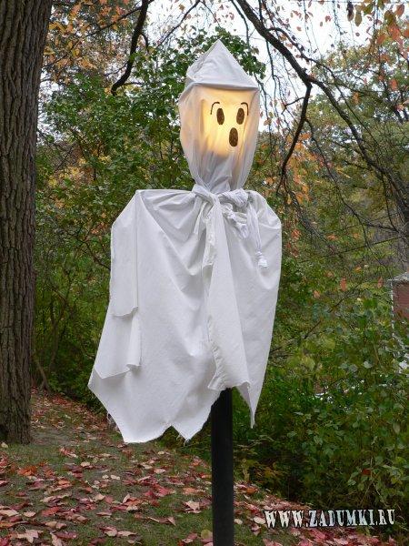 Как сделать призраков из подручных материалов?