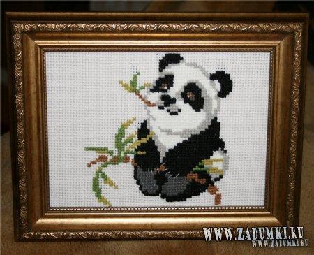 Вышивка для любителей панд