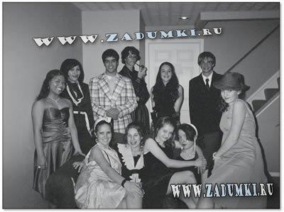 Вечеринка в стиле 20-х годов.