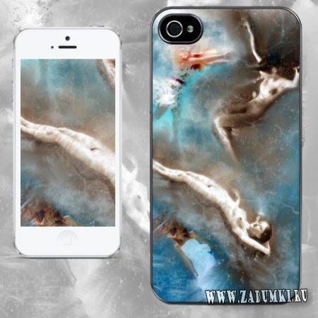 Утопленное царство: чехол для iPhone 4S/5