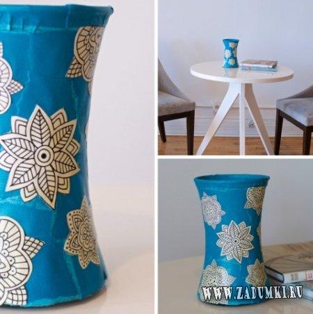 Переделка простой вазы