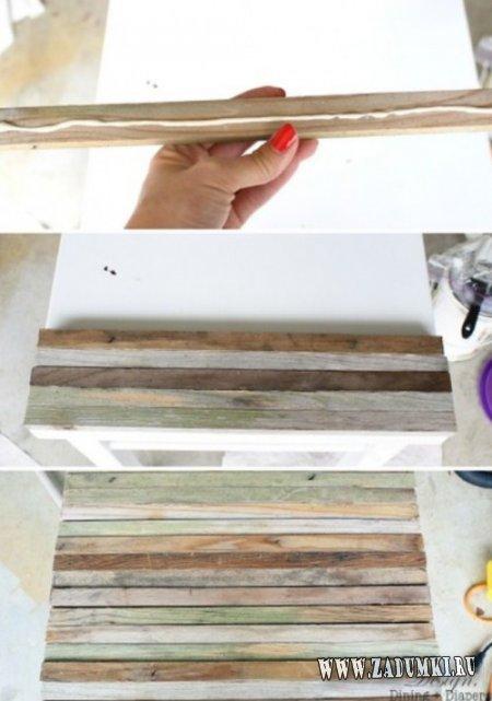 Реновация старого приставного столика