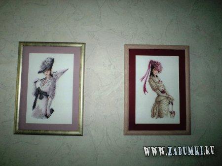 Картины ручной работы, сделанные полностью из бисера