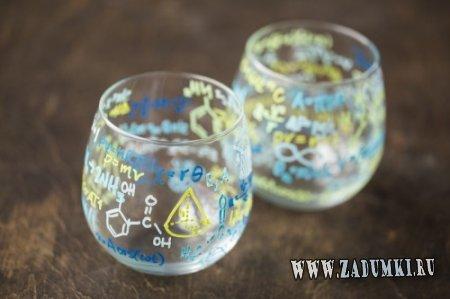 Классные стаканы с формулами