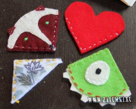 Закладки на День святого Валентина