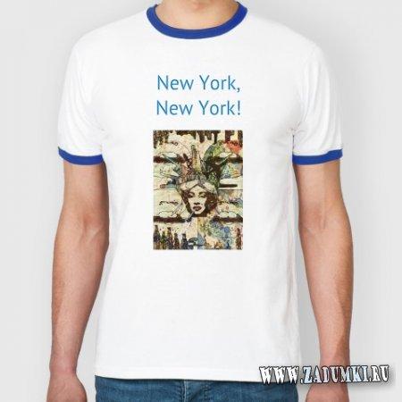 Футболка New York, New York