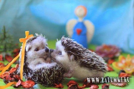 Игрушки из войлока от Анны Романовой