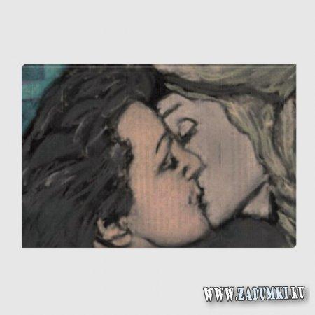 Поцелуй Марлен и Эдит