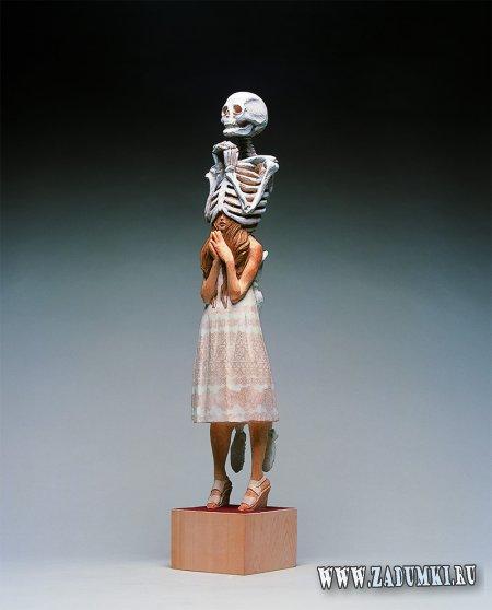 Люди из скелеты от Йошитоши Канемаки